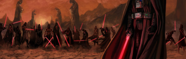 Vader and various Sith Lords